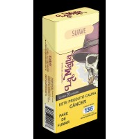 Cigarro de Palha La Mafia Artesanal  Suave -  Pacote com 10 maços